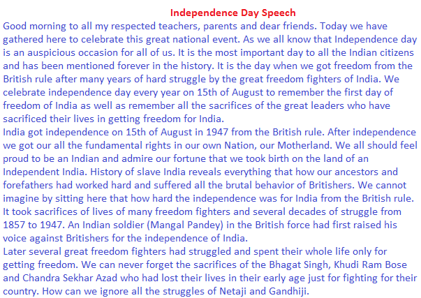 th independence day short essay nibandh lines 70th independence day essay for kids 15 2016 lines in english for kids