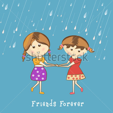 Friendship Day Banners Clipart