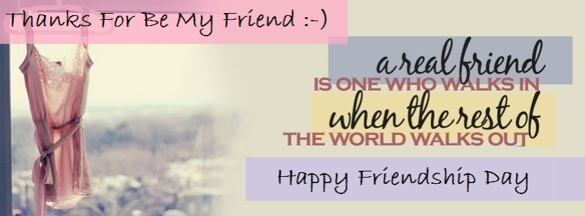 Friendship Day Facebook Cover