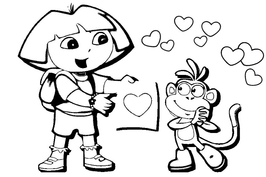 Happy Friendship Day Coloring Pages Printable Download For Girls