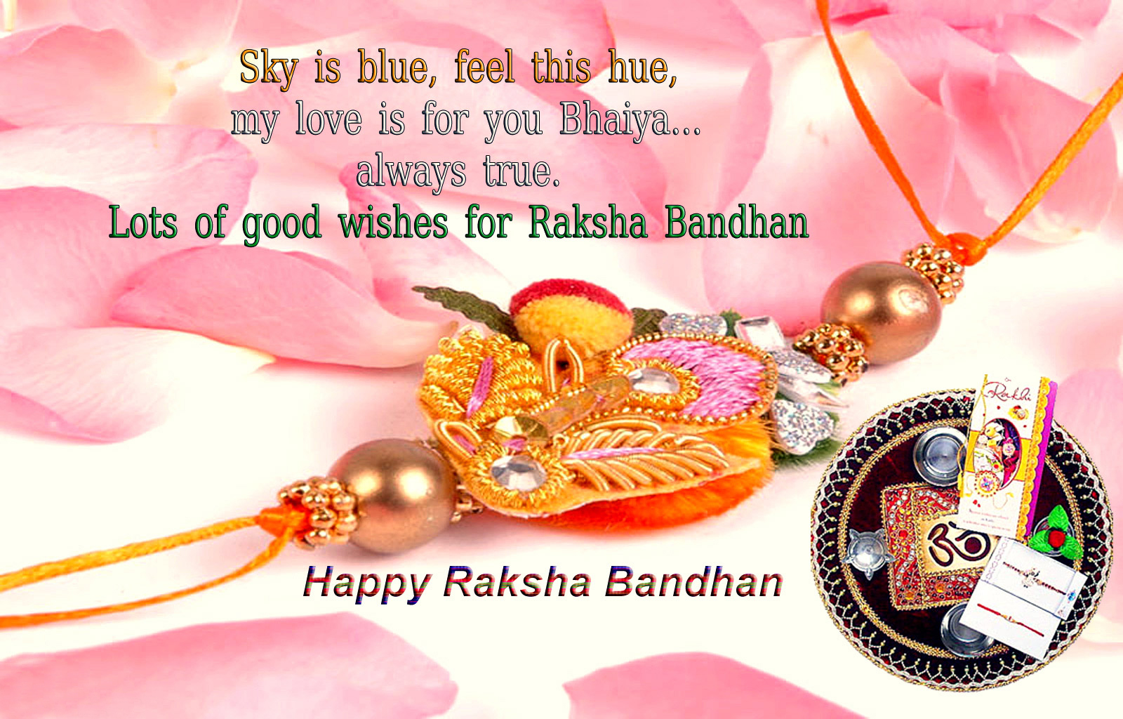 Happy Raksha Bandhan Wishes Images