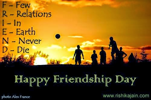 Happy friendship day quotes cards