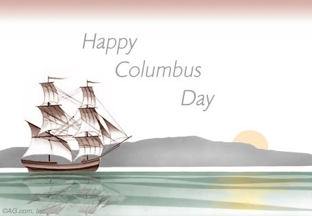 happy columbus day pictures