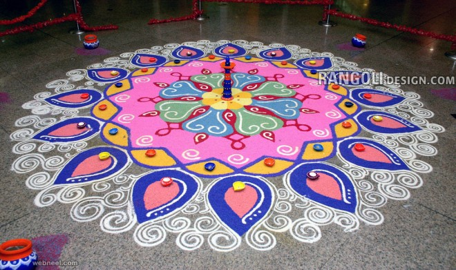 Rangoli Design for Diwali 2016
