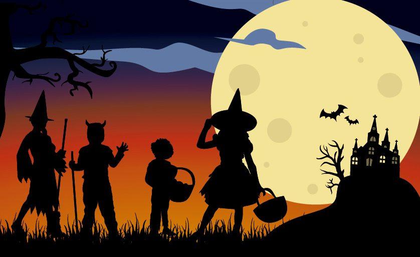 Scary Halloween WhatsApp DP