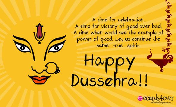 Dussehra Greeting Cards Images