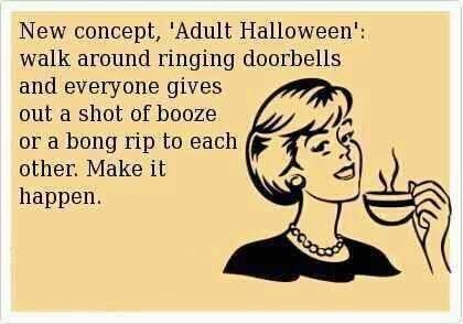 Funny Adults Halloween Quotes