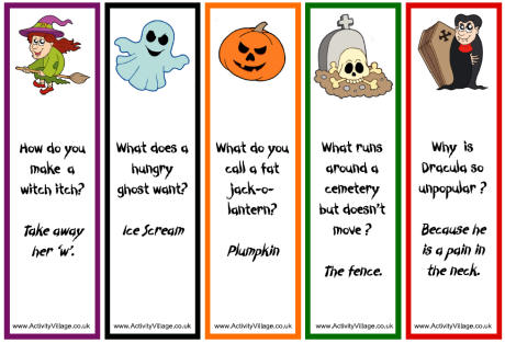 halloween jokes & Riddles