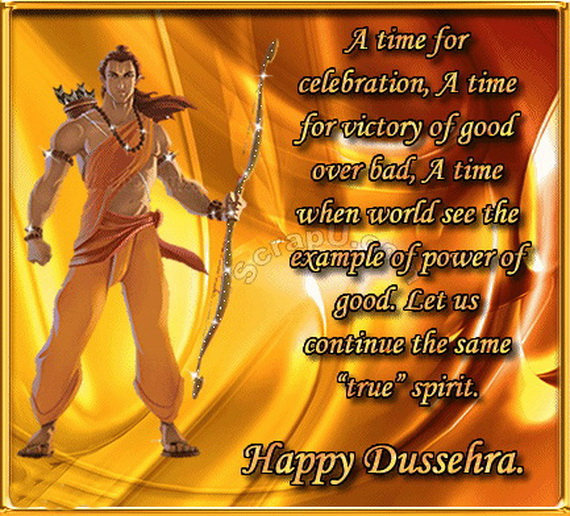 Invitation Card For Dussehra