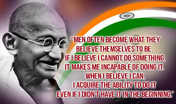 quotes on gandhi jayanti in english