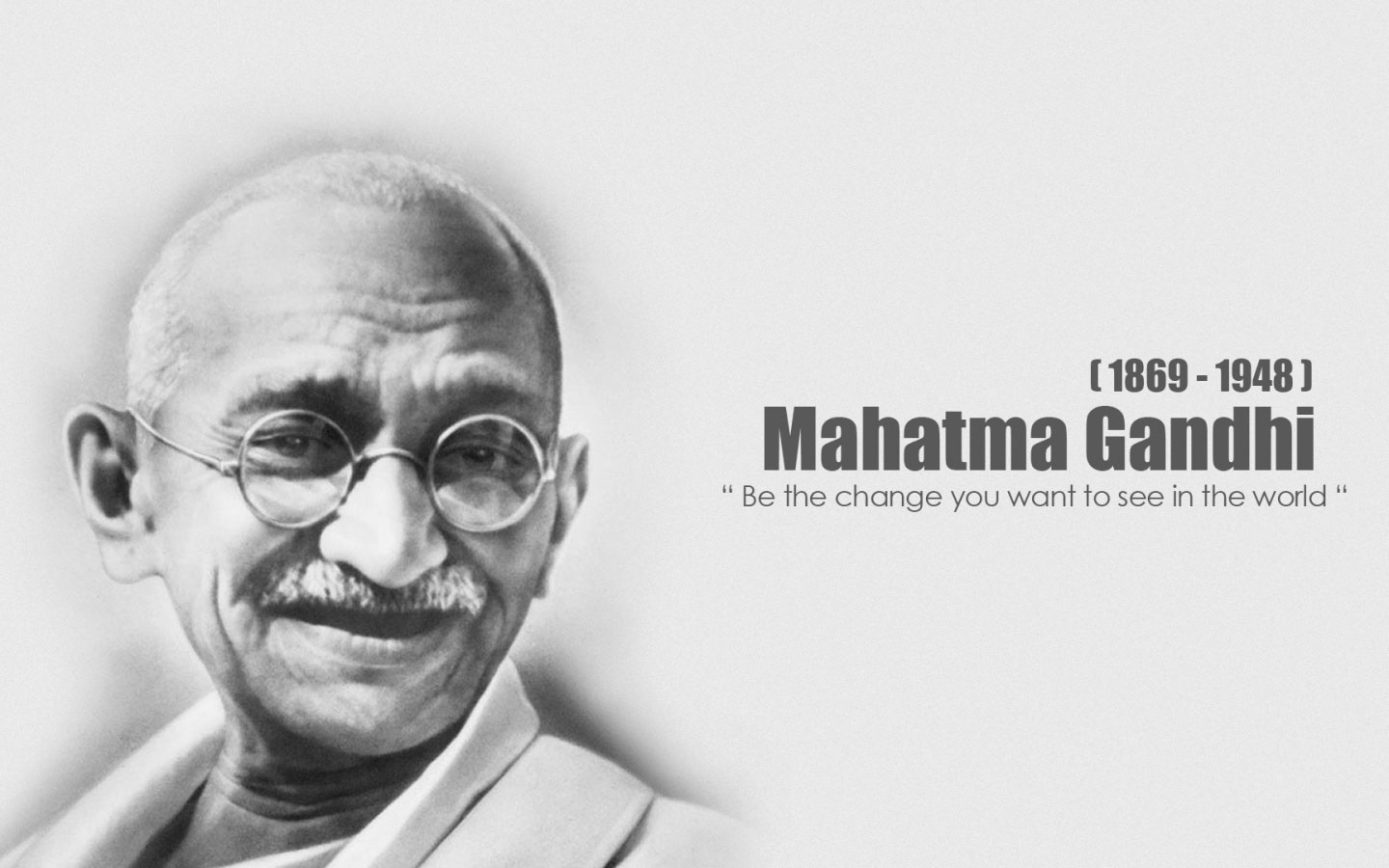 short quotes on gandhi jayanti