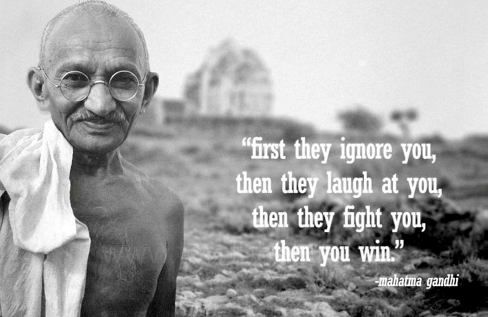 thoughts for gandhi jayanti