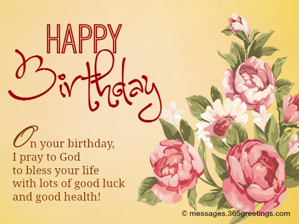 Birthday Messages in English