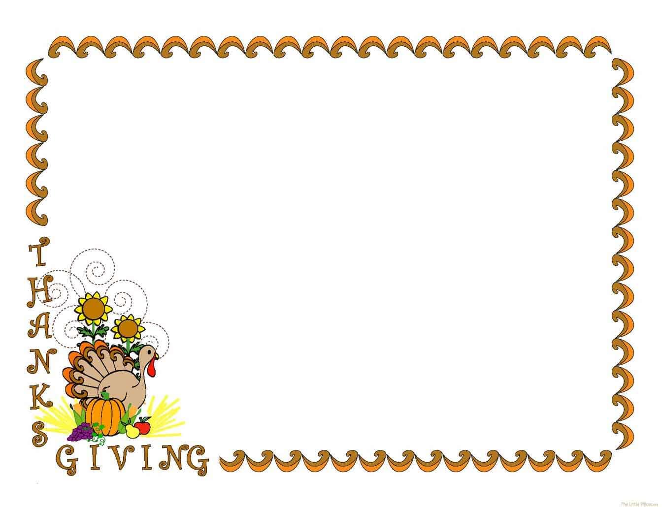 Thanksgiving Border Clipart