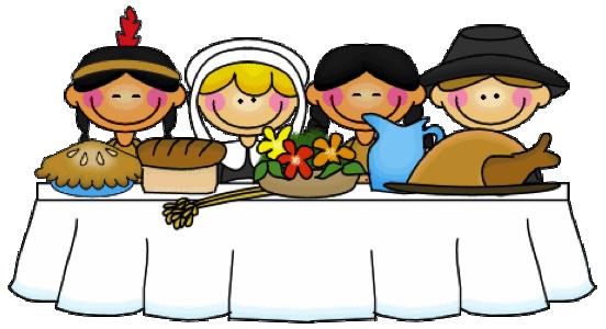 Thanksgiving Dinner Clipart