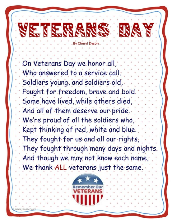 Veterans Day Poems