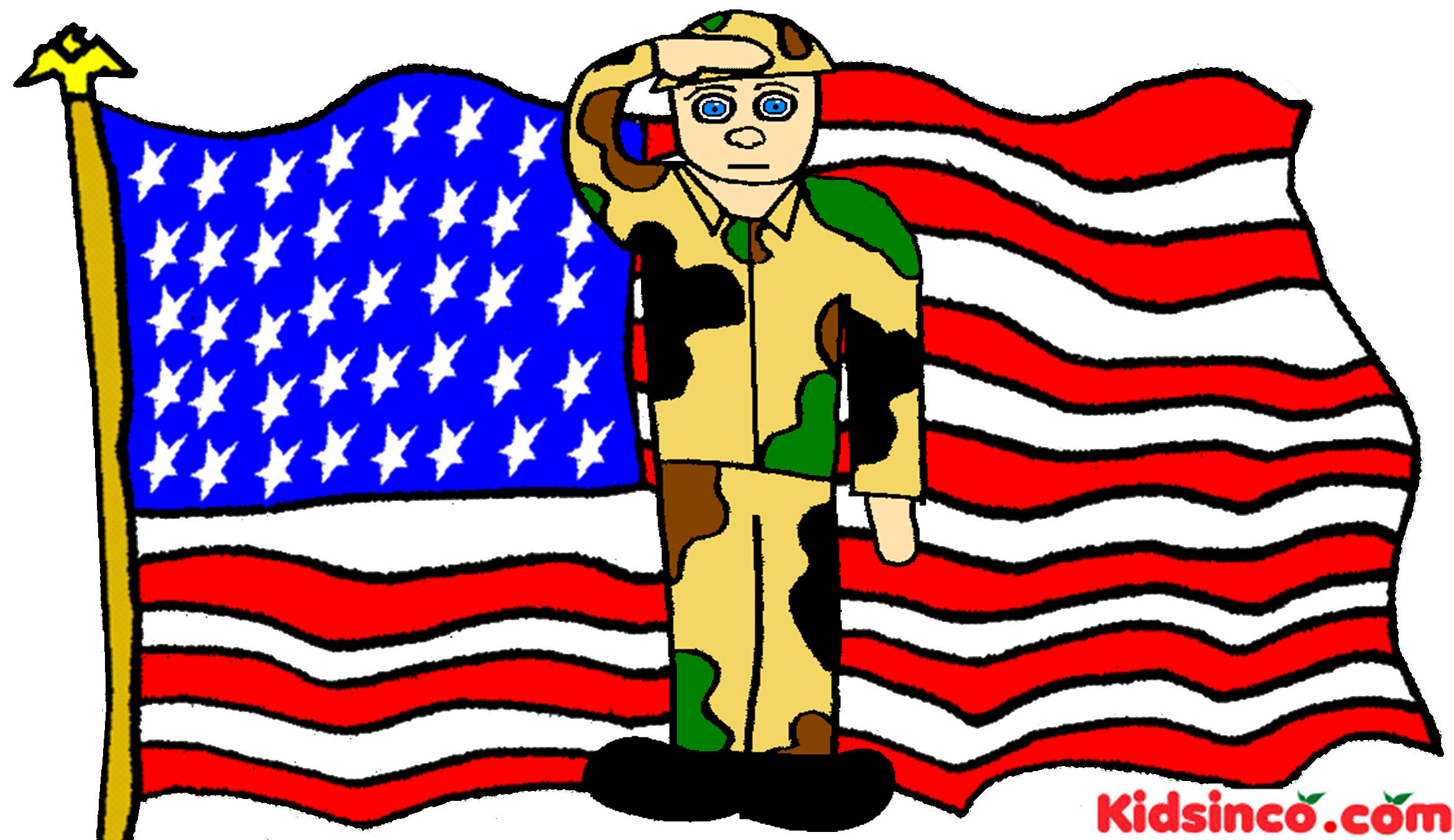 free veterans day clip art