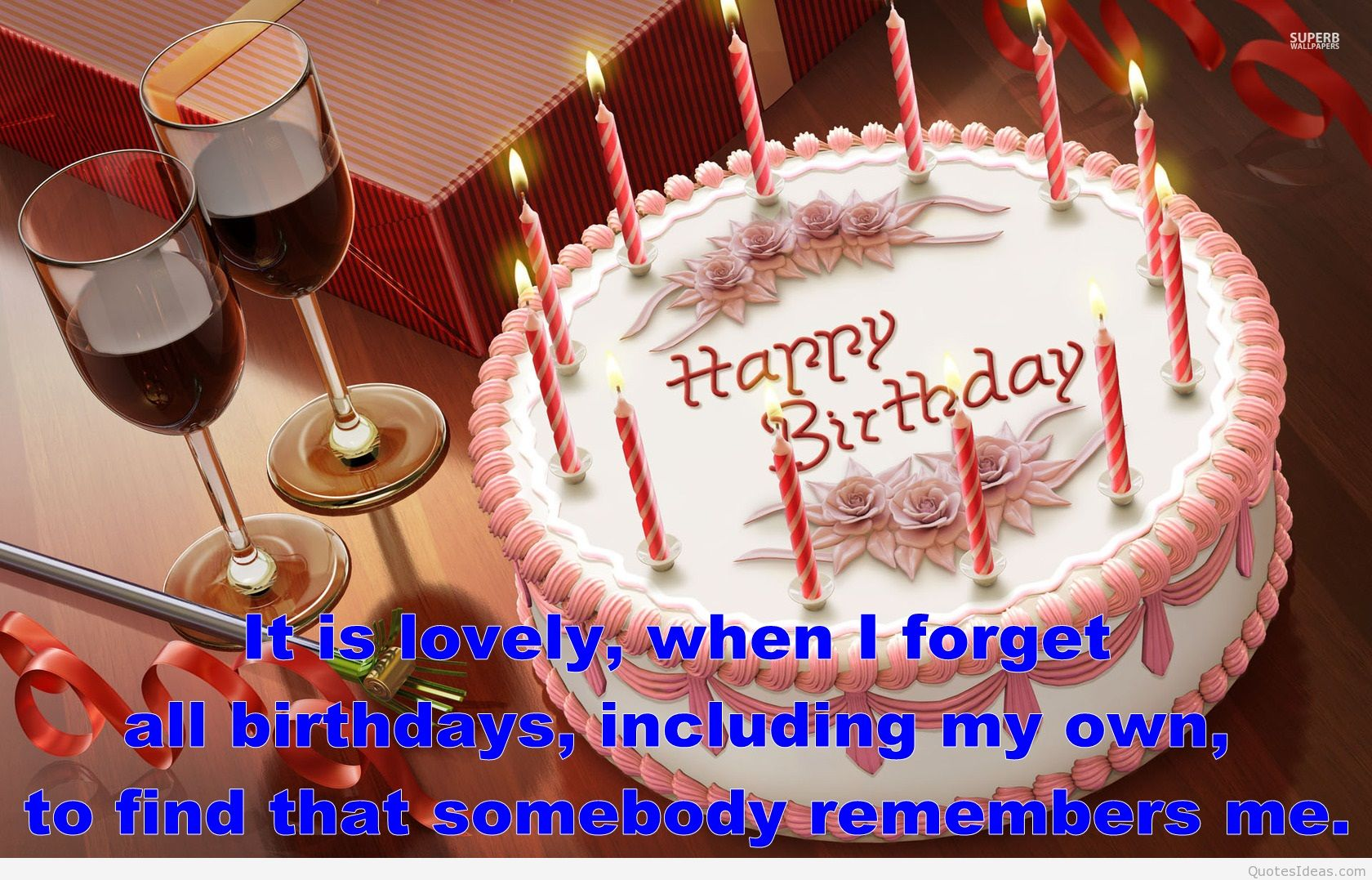 happy birthday quotes for brother with cake