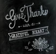 Thanksgiving Chalkboard Sayings