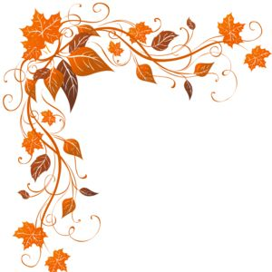 thanksgiving corner borders