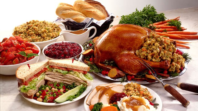 thanksgiving dinner images