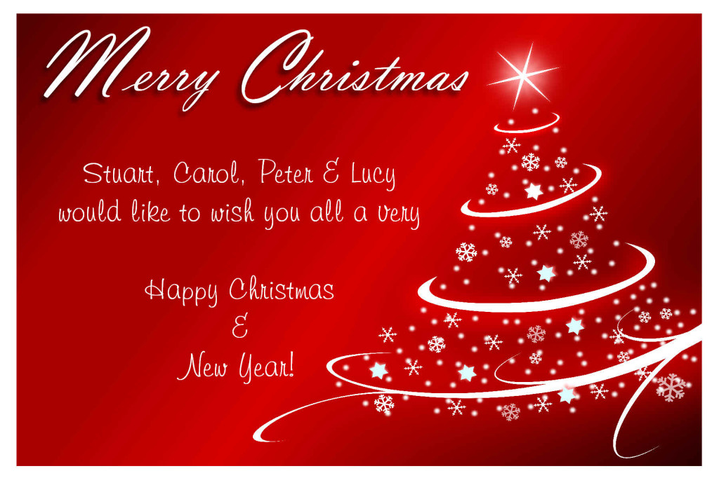 merry christmas words for business friends and family
