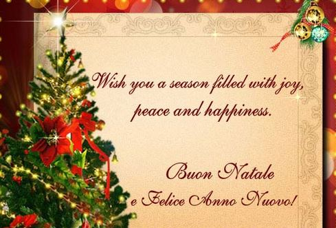 How To Say Merry Christmas In Italian.Merry Christmas Wishes Messages Quotes For Friends Family