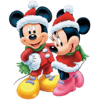 disney christmas cartoon characters