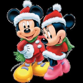 disney christmas cartoon characters