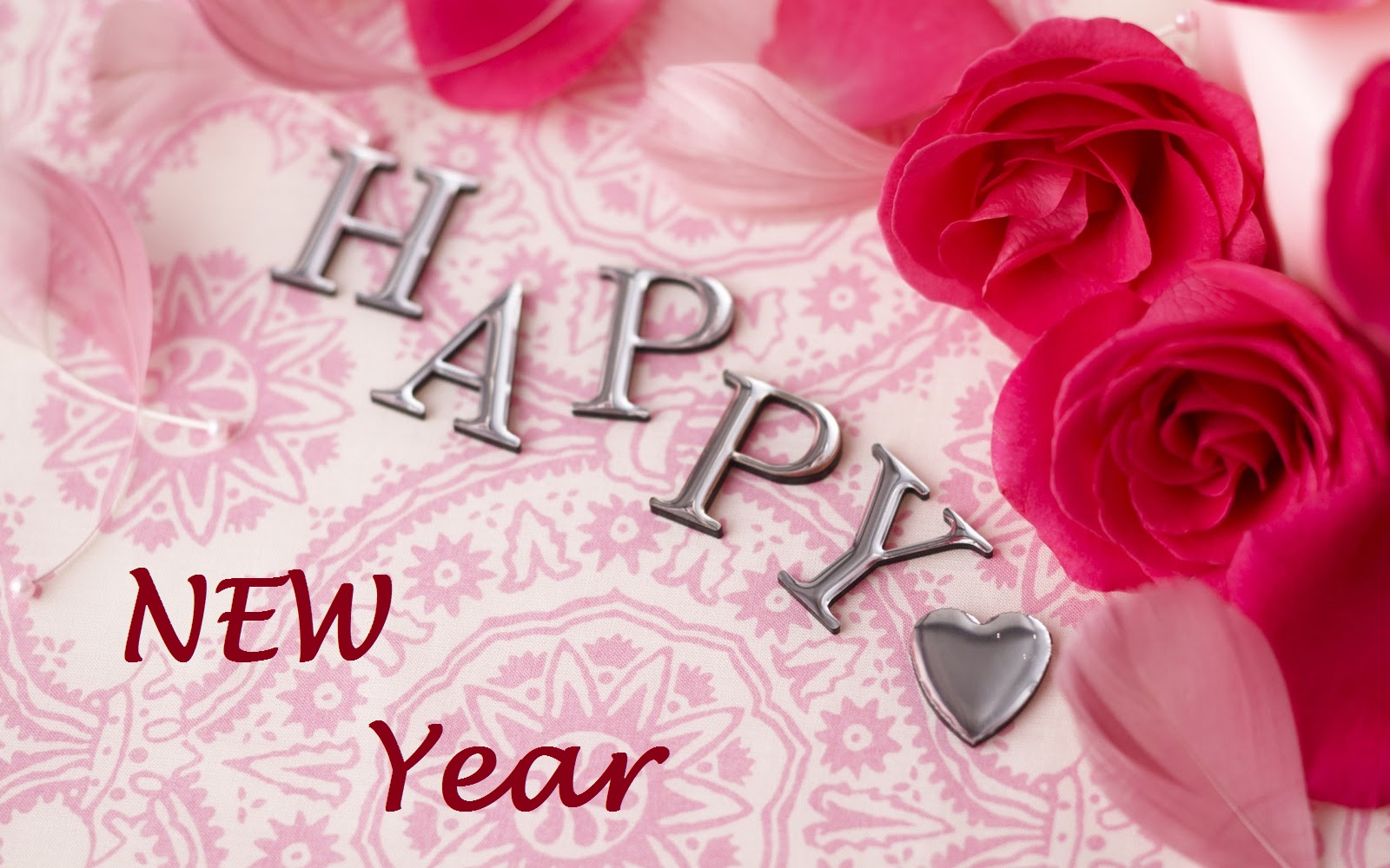 happy new year love wallpaper