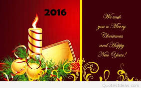 merry christmas greetings 2016