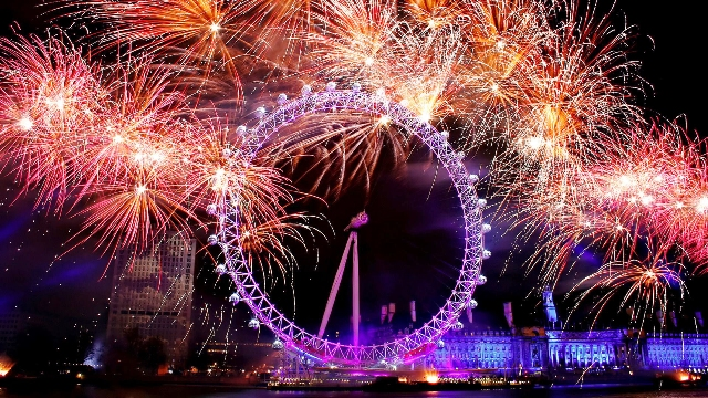 new year london fireworks wallpaper 2017