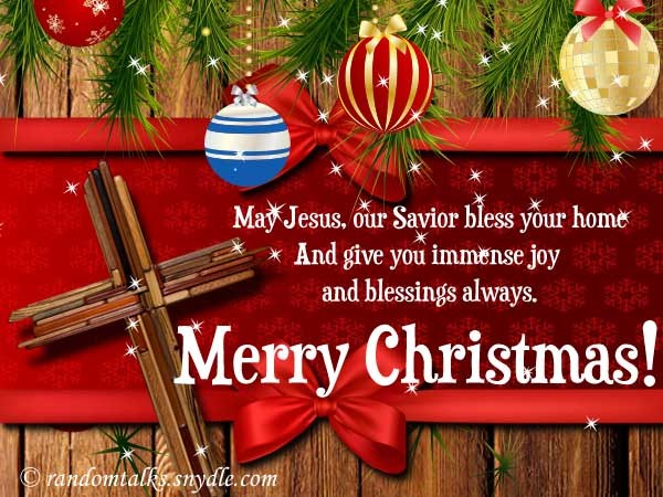 religious merry christmas greetings