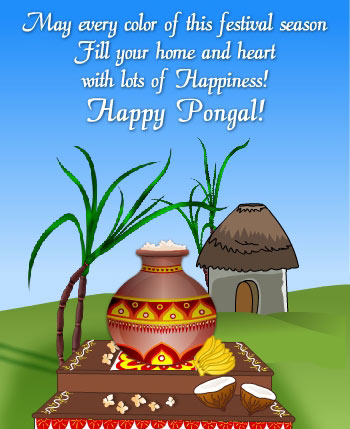 Pongal Greetings, Pongal Scraps, Graphics