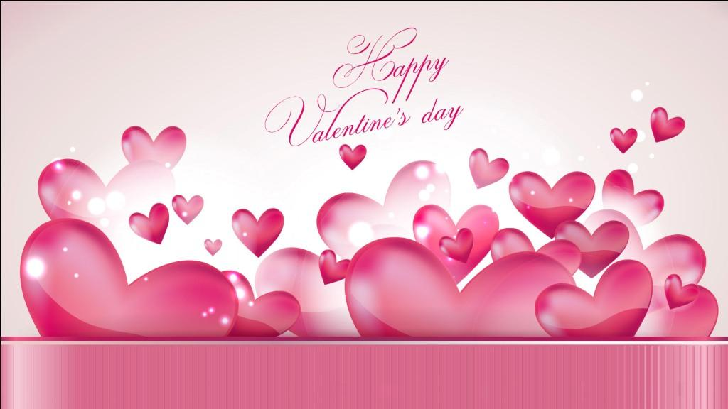 happy valentine day wallpaper 2017