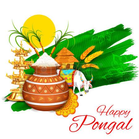 pongal festival clipart
