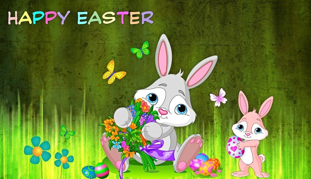Happy Easter Bunny Photos