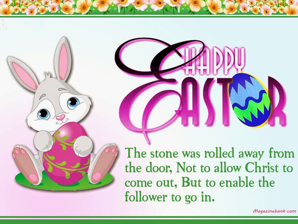 Happy Easter Bunny Quotes Wishes Messages Sayings Images Pictures – Easter Greeting Card Sayings