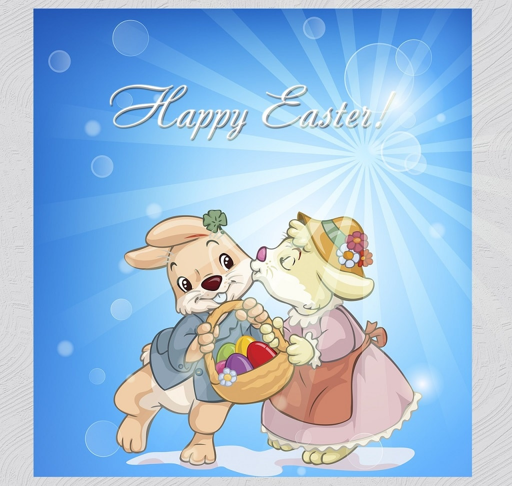 Happy Easter Bunny Wishes