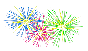 Fourth of July Fireworks PNG