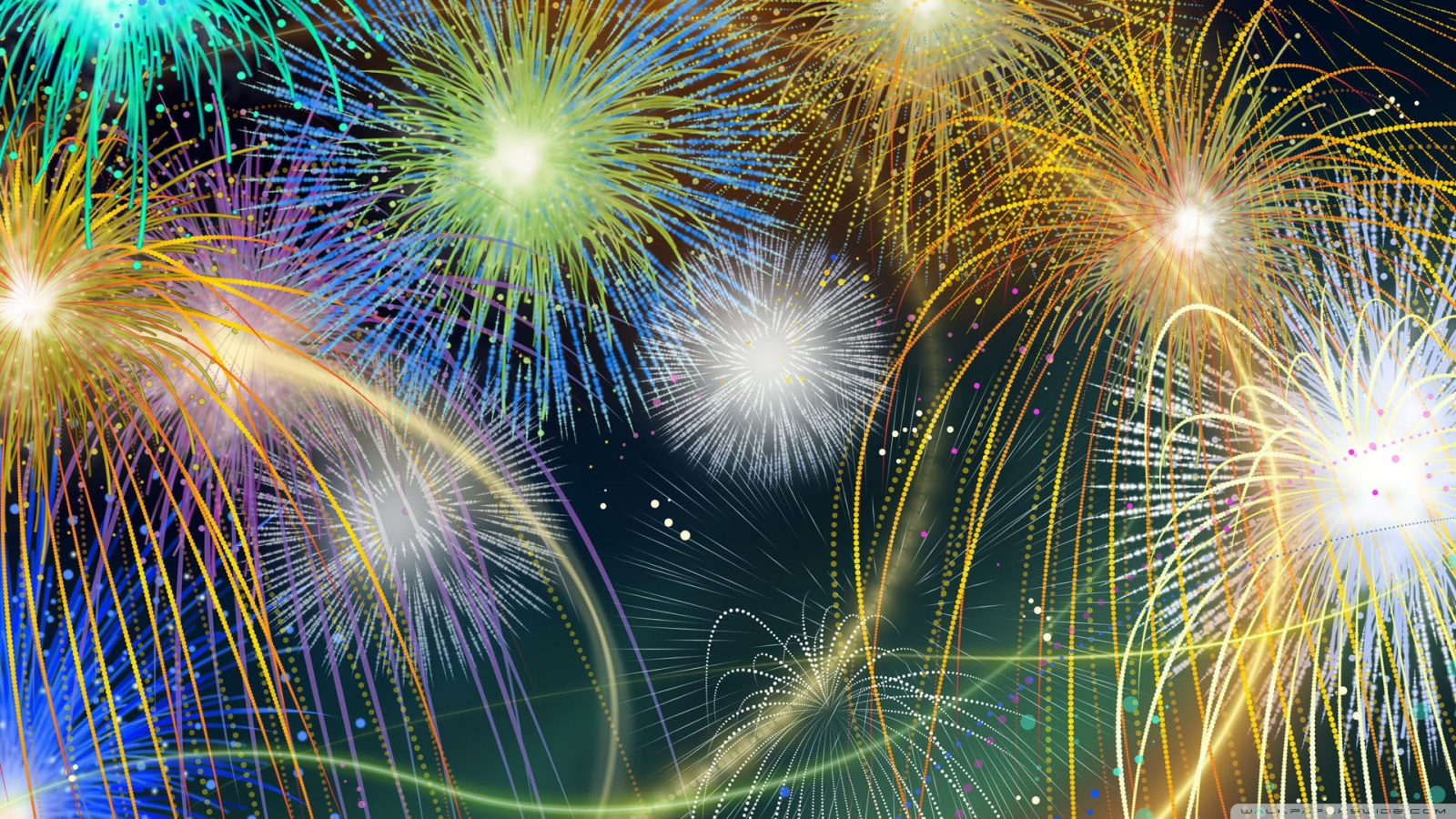 Fourth of July Fireworks Wallpaper