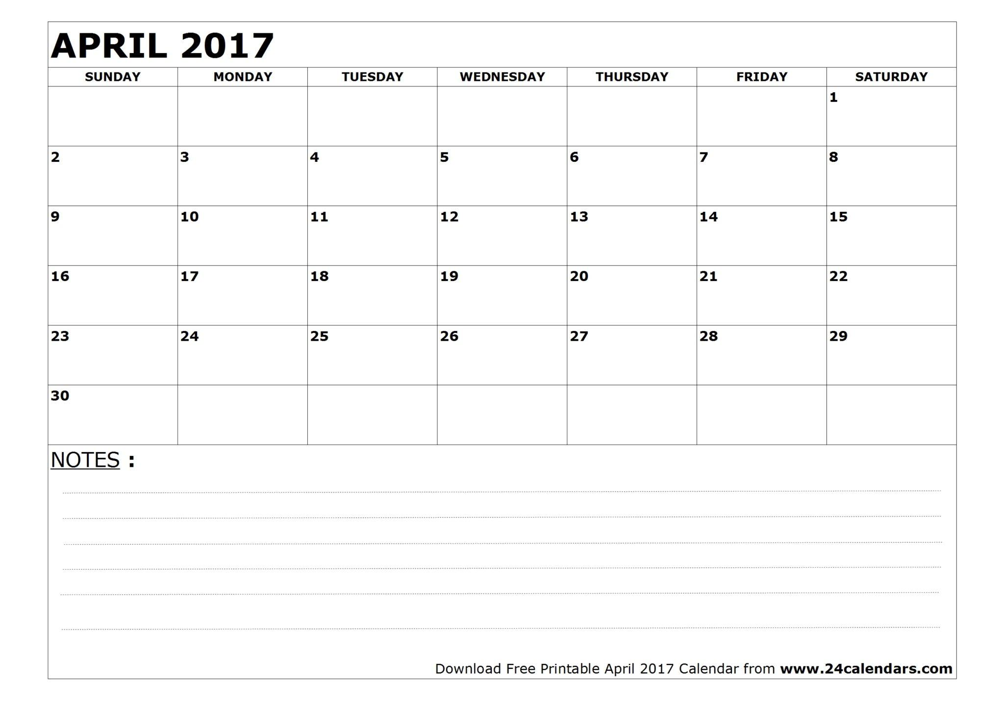 april 2017 printable calendar waterproof