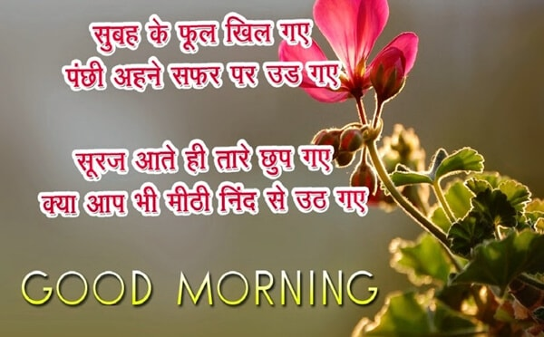 good morning shayari wallpapers