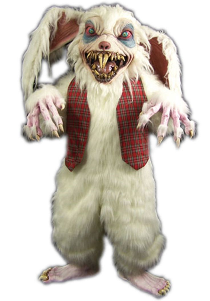 scary easter bunny costume