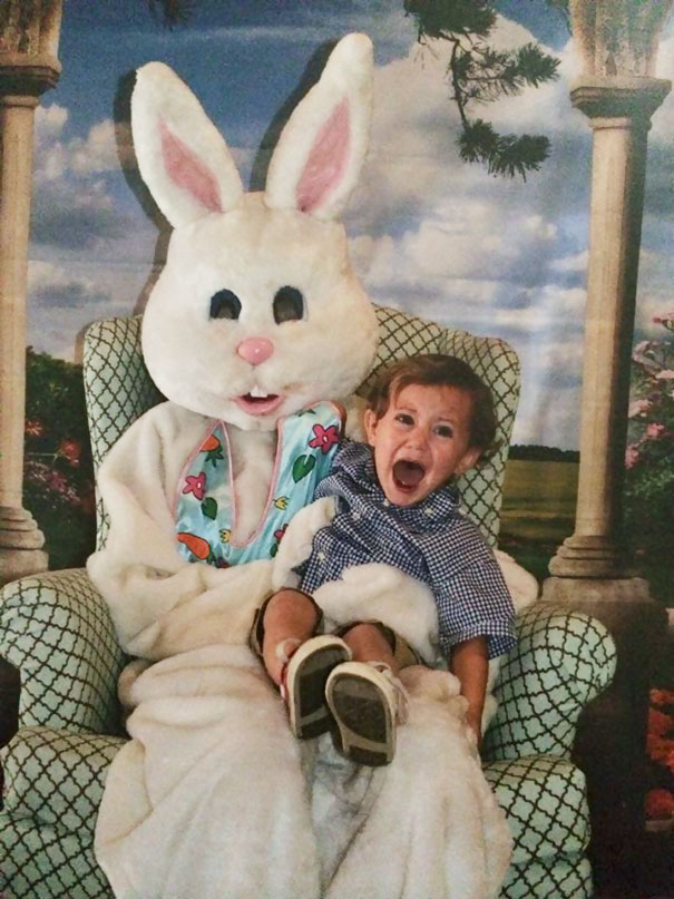 scary easter bunny pics