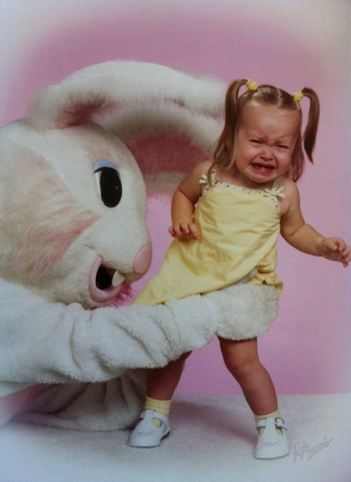 terrifying easter bunny photos