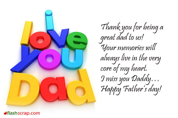 Fathers Day Greetings Images From Daughter