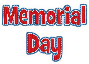 Memorial Day Banner Png