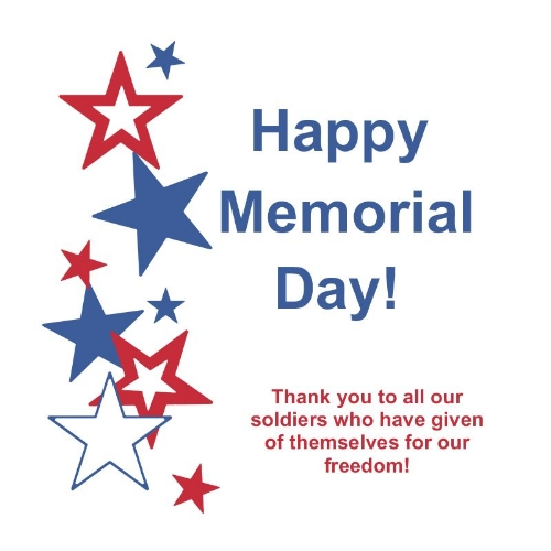 Memorial Day Greeting cards