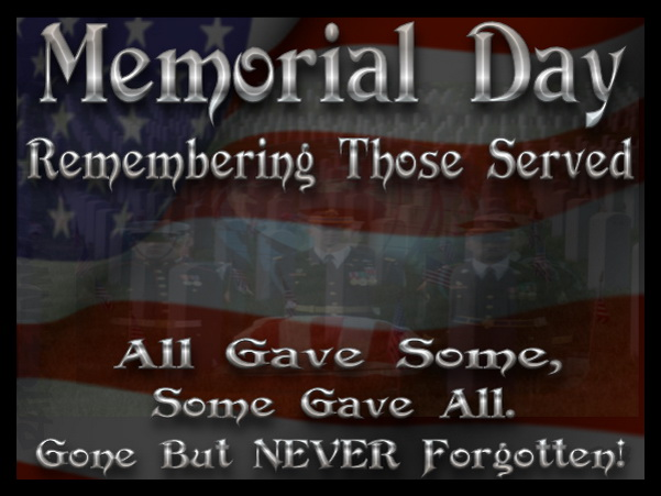 Memorial Day Quotes of Remember